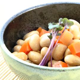 食卓の定番「大豆の五目煮」